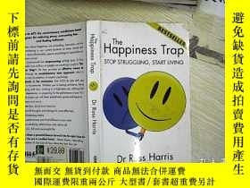 二手書博民逛書店THE罕見HAPPINESS TRAP STOP STRUGGL