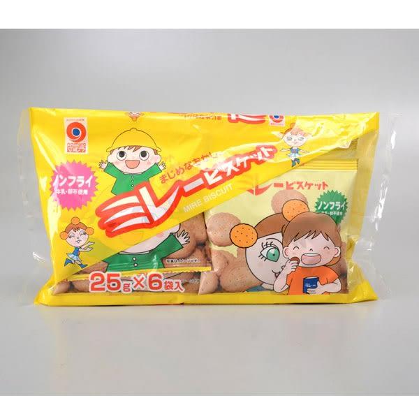 【野村】煎豆非油炸美樂圓餅[6包入]150g(賞味期限:2019.03.01)