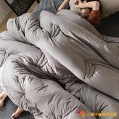 日式加厚冬被水洗絎縫抗菌大豆纖維被子單雙人冬季棉被【小獅子】