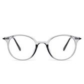 鏡架(圓框)-新款時尚個性透明男女平光眼鏡5色73oe50[巴黎精品]