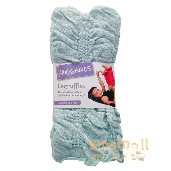 澳洲Huggalugs創意手襪套,荷葉邊Star Light Blue