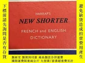 二手書博民逛書店harraps罕見new shorter french and