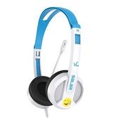 Salar/聲籟V38彩虹版英語電腦耳機學生兒童網課人機對話頭戴式有線帶麥克風 初色家居館