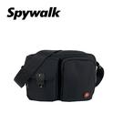 SPYWALK  休閒雙袋素色側背包 N...