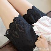 內搭褲純棉鏤空花邊安全褲防走光女夏外穿內搭保險褲寬鬆 貝芙莉
