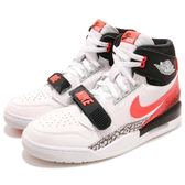 Nike Air Jordan Legacy 312 NRG  Hot Laba  白 黑 粉紅 男鞋 高統 【PUMP306】 AQ4160-108