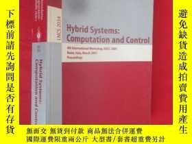 二手書博民逛書店Hybrid罕見Systems: Computation and