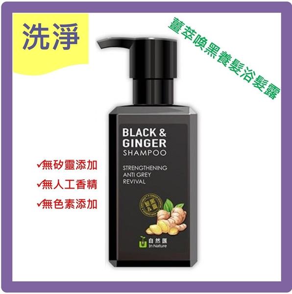 SOFEI 舒妃 自然匯薑萃喚黑養髮浴髮露(500ml)