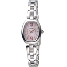 SEIKO精工VIVACE甜美時尚太陽能腕錶 V117-0EC0S SWFA177J 淡粉