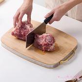 砧板 竹制剁骨菜板廚房加厚切菜板搟面板 家用大號水果案板 FF628【Rose中大尺碼】