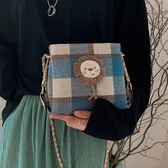 鍊條包夏季上新小包包女包潮韓版百搭斜背包時尚鍊條側背小方包 美物居家