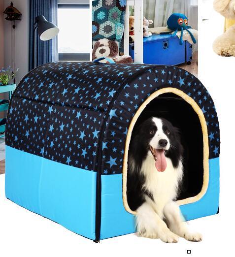 狗窩冬天泰迪小型犬窩