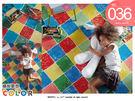 COLOR繽紛夢想--整捲式兒童耐磨吸音墊-訂製品│0.3cm厚【歐洲製造】-地墊專用/遊戲墊/防護墊
