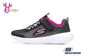 SKECHERS GO RUN 600 運動鞋 女童 透氣 輕量 慢跑鞋Q8229#黑銀◆OSOME奧森童鞋