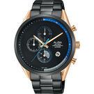 情人節限定250只 ALBA雅柏 Tokyo Design 情人限定原創計時手錶-44mm VD57-X135KS(AM3594X1)