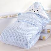 新生兒抱被春夏季包被 可脫膽兩用嬰兒抱毯秋冬加厚報被裹布用品 名稱家居館