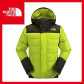 【The North Face 男 800 fill 羽絨兜帽外套《芥末黃/黑墨綠》】CUE5/羽絨外套/登山/賞雪/滑雪/保暖