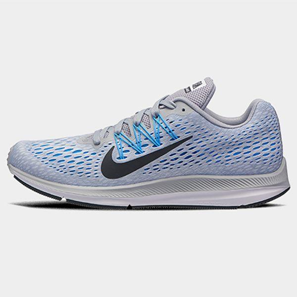 NIKE ZOOM WINFLO 5 男鞋 慢跑 馬拉松 氣墊 網布 淺藍 【運動世界】 AA7406-003
