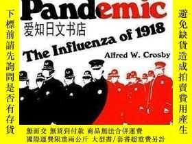 二手書博民逛書店【罕見】America s Forgotten Pandemic: The Influenza Of 1918