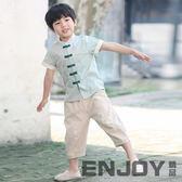 童裝漢服 男童中國風唐裝復古民族服裝