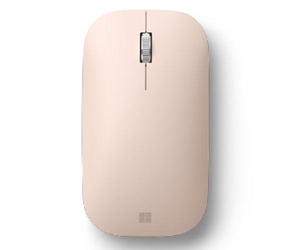 (新色上市) Microsoft 微軟 Surface Mobile Mouse 藍牙無線滑鼠 (砂岩金)