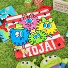 日本迪士尼束口袋 MOJA! 小毛球 海藻怪 束口袋化妝包收納包收納袋拍立得相機包 COCOS FE080I