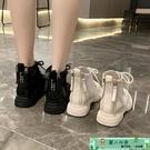馬丁靴 馬丁靴女夏季薄款英倫風新款韓版短...