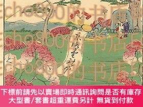 二手書博民逛書店東京名勝圖會飛鳥山花見Famous罕見Places in Tokyo   Cherry Blossom Viewi