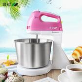 週年慶優惠兩天-迷你大功率電動打蛋器家用手持打蛋機台式攪拌奶油烘焙工具