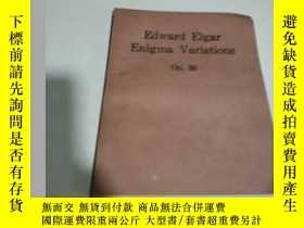 二手書博民逛書店Edward罕見Elgar Enigma Variations