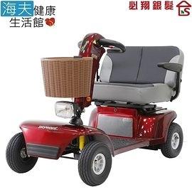 【海夫健康生活館】必翔 電動代步車 雙人共乘款(TE-9D)