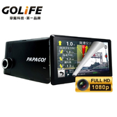 【小樺資訊】含稅 PAPAGO GOLiFE GoPad DVR7 多功能Wi-Fi行車紀錄聲控導航平板