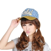 棒球帽-時尚拼色點點愛心刺繡女帽子4色71k12【巴黎精品】