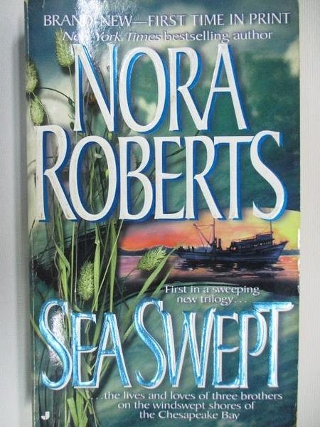 【書寶二手書T7/原文小說_AAK】Sea Swept_Nora Roberts