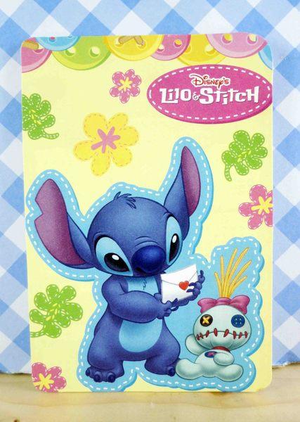 【震撼精品百貨】Stitch_星際寶貝史迪奇~卡片-黃拿信