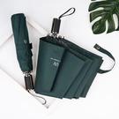小清新純色UV傘 UV3011 黑膠防曬傘
