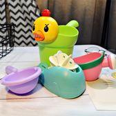 兒童洗澡玩具戲水車男孩女孩小黃鴨洗頭杯花灑寶寶灑水壺【新店開業,限時85折】