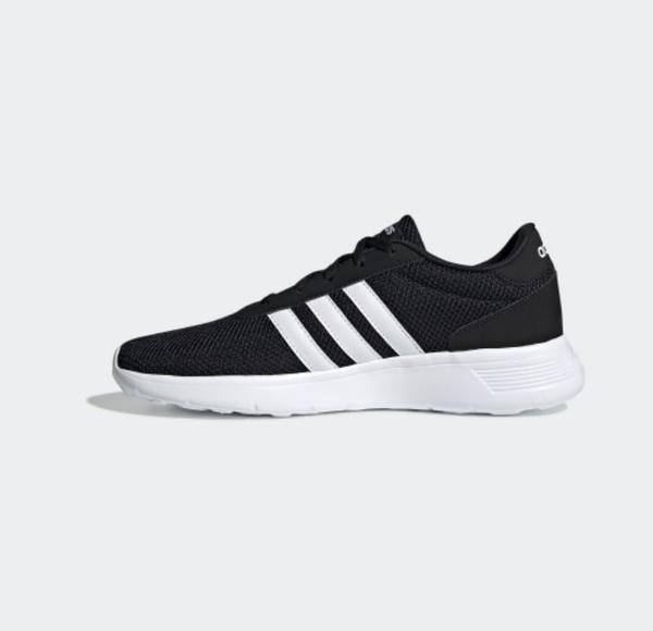 Adidas NEO LITE RACER 男款黑白休閒鞋-NO.EH1323