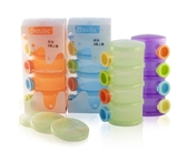 『121 婦嬰用品館』貝喜力克Basilic 四層奶粉盒3 個上蓋黃色綠色紫色橘色藍色