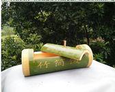 新鮮帶蓋臥式竹筒飯蒸筒竹筒雞原生態竹制品天然楠竹 滿598元立享89折