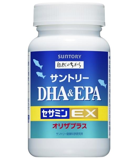 Suntory 三得利 魚油 DHA&EPA 芝麻明E 30日份 120錠