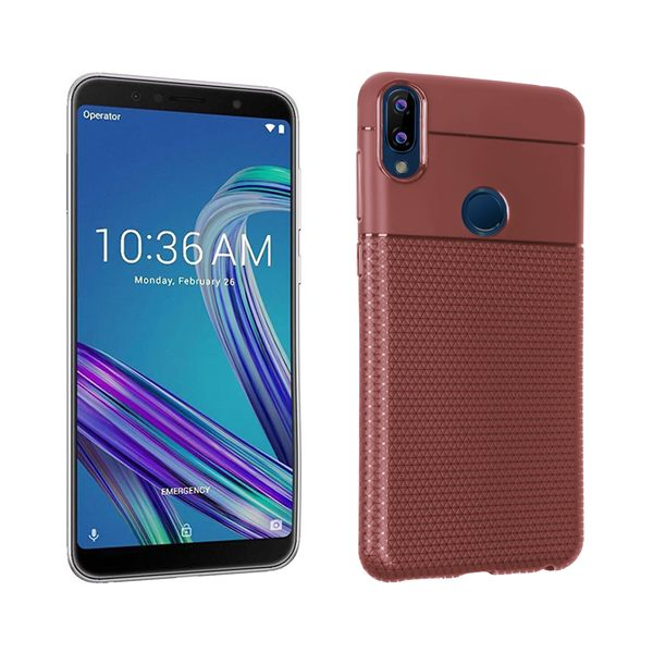 【SZ34】華碩Zenfone Max Pro (M1) 創意三角紋手機殼 ZB601KL磨砂保護套