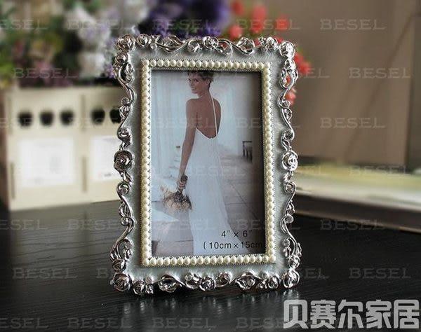 鋅合金像框 結婚相框