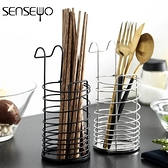 筷籠 304不銹鋼筷子筒 掛式筷筒筷籠架壁掛式創意廚房收納盒餐具瀝水架