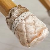 加厚耐磨棉布桌腳套(4入) 防滑 布藝 桌椅 凳子保護套 桌腳墊 防刮傷地板【G060-1】慢思行