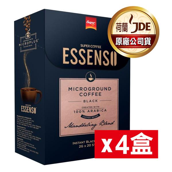 【東勝】ESSENSO曼特寧 微磨黑咖啡 四盒裝 即溶咖啡 100%阿拉比卡原豆