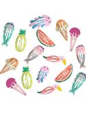 韓國兒童發飾品水果菠蘿小卡子可愛寶寶bb發夾嬰兒童發卡女童頭飾