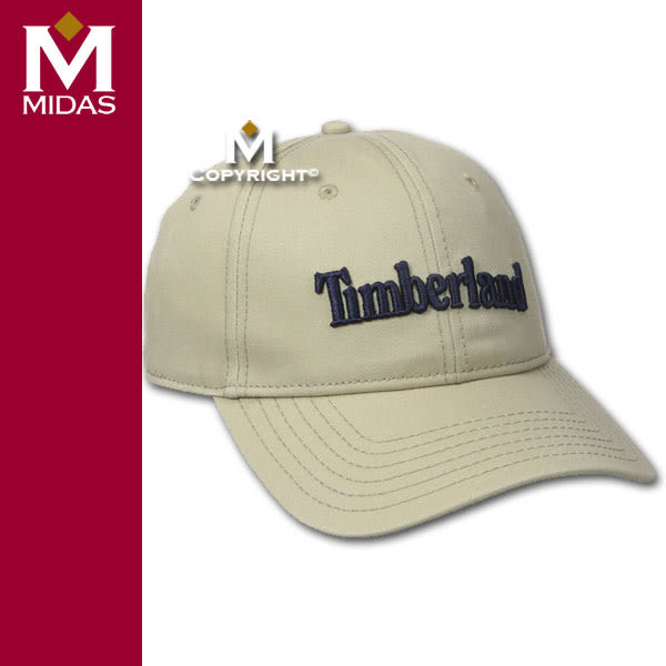 Timberland 限量 帽子【美國進口現貨】男女用 有機棉 棒球帽 可調整背帶 經典標誌 淺棕色