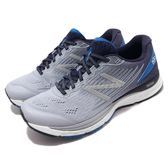 New Balance 慢跑鞋 NB 880 灰 藍 輕量鞋面 緩震中底 運動鞋 男鞋【PUMP306】 M880SB84E