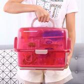 全館降價最後一天-嬰兒奶瓶收納箱奶粉盒便攜外出晾干架瀝水帶蓋防塵寶寶餐具收納盒RM